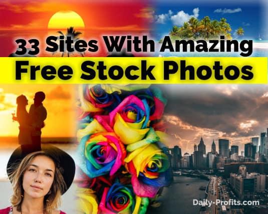 33 Sites With Amazing Free Stock Photos