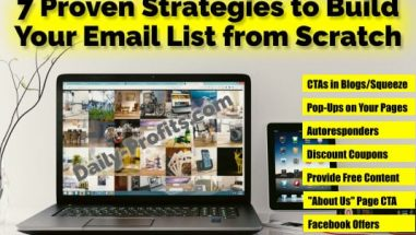 7 Proven Strategies to Build Your Email List from Scratch