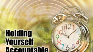 Holding Yourself Accountable